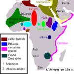 Carte Afrique médiévale