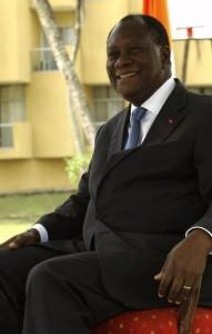 Alassane Ouattara à Dakar