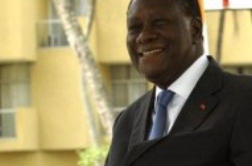 Article : Alassane Dramane Ouattara à Dakar aujourd'hui